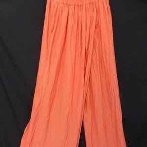 ZARA BASIC, small, orange pants , 2 pockets, BNWOT